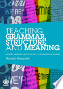 Teaching Grammar  Structure and Meaning