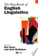 The Handbook of English Linguistics