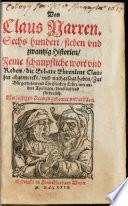 Von Claus Narren