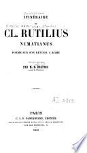 Itinéraire de Cl. Rutilius Numatianus