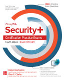 Comptia Security Certification Practice Exams Fourth Edition Exam Sy0 601