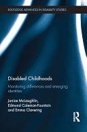 download ebook disabled childhoods pdf epub