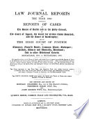 The Law Journal for the Year 1832-1949