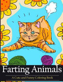 Farting Animals Coloring Book