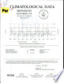 Climatological Data  Minnesota