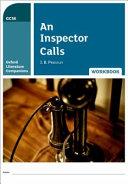 Oxford Literature Companions  an Inspector Calls Workbook