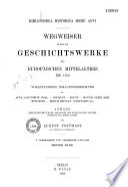 Bibliotheca historica medii aevi