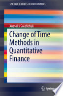 Change of Time Methods in Quantitative Finance