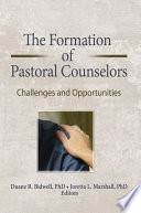The Formation Of Pastoral Counselors