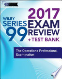 Wiley FINRA Series 99 Exam Review 2017
