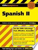 Cliffsstudysolver Spanish Ii