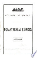 Departmental Reports
