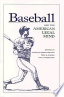 Baseball and the American Legal Mind
