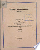 External Program Review Report