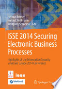 ISSE 2014 Securing Electronic Business Processes