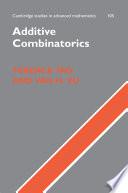 Additive Combinatorics