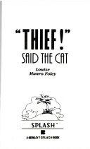 Thief  Said the Cat