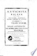 Delle antichit   picene dell abate Giuseppe Colucci patrizio camerinese  Tomo 1  31