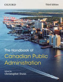 The Handbook of Canadian Public Administration