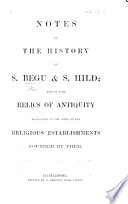 Notes on the History of S  Begu   S  Hild
