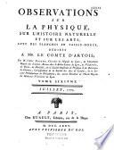 Journal de physique, de chimie, d'histoire naturelle et des arts... Années 1794-1817