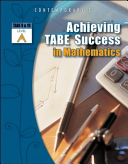 Achieving TABE Success In Mathematics  Level A Workbook