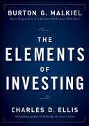 The Elements of Investing Book