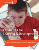 Children s Care  Learning and Development Candidate Handbook