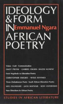 Ideology   form in African poetry