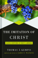 The Imitation Of Christ : when someone takes it out of an...