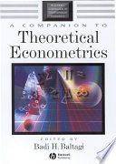 A Companion to Theoretical Econometrics