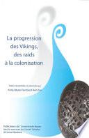 illustration du livre La Progression des Vikings