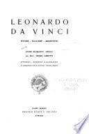 Leonardo da Vinci  pittore   scultore   architetto