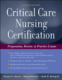 Critical Care Nursing Certification