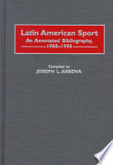 Latin American Sport Latin American Sport Published In The Past