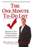 The One Minute To Do List Book PDF