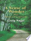 Ebook A Sense of Wonder Epub Craig Nagel Apps Read Mobile