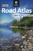 Rand Mcnally 2019 Road Atlas Large Scale