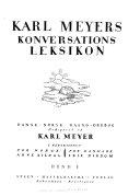 Karl Meyers koversations leksikon