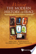 Writing the Modern History of Iraq