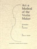 Art Method Of The Violin Maker