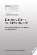 Education  Equity and Transformation