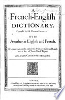 A French English Dictionary