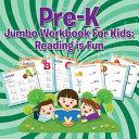 Pre K Jumbo Workbook For Kids