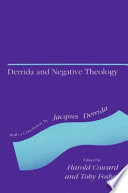 Derrida And Negative Theology