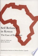 Self Reliance in Kenya
