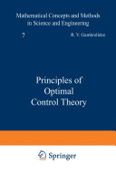 Principles of Optimal Control Theory