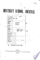 District School Journal Of The State Of New York