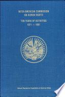 Ten Years of Activities  1971 1981