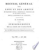 Recueil général des lois et des arrêts, en matière civile, criminelle, commerciale et de droit public, depuis l'avénement de Napoléon